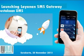 Soft launching Layanan SMS Gateway