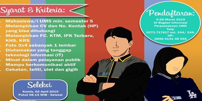 Open Recruitmen Duta Perpustakaan 2015