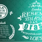 poster lomba  2_Library UMS